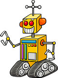 robot fantasy character cartoon