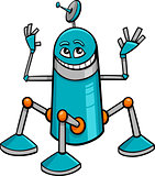 robot character cartoon