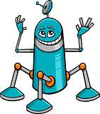 robot character cartoon