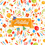Holiday Vector Banner