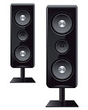 acoustic speakers with three speakers