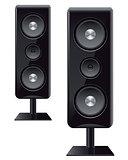 acoustic speakers with three speakers
