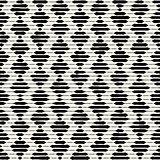 Vector Seamless Rhombus Engraving Pattern
