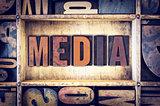 Media Concept Letterpress Type