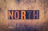 North Concept Wooden Letterpress Type