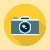 Camera Icon Flat