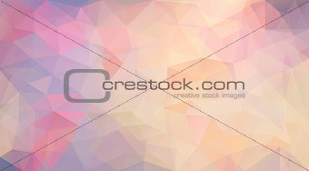 Abstract polygonal vector background