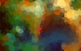 Beautiful abstract mosaic colorful background