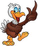 Cheerful Bald Eagle