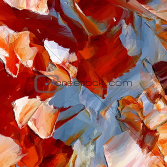 Abstract Painting Background. Vector