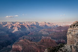 Beautiful Landscape of Grand Canyon north rim during dusk