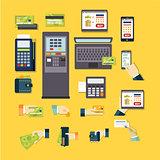 E-commerce Vector Illustration Set