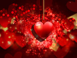 Valentine's day heart background