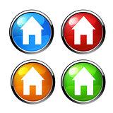 icon house vector.