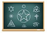 board magic symbol