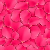 Rose Petals Seamless Pattern