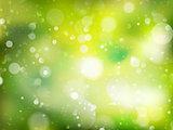Spring Bokeh background. EPS 10