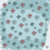 Doodled Snowflakes, original hand-drawn
