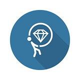Offer Icon. Flat Design.