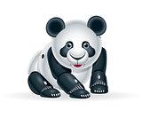 Robot panda cub