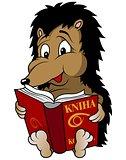 Hedgehog And Book