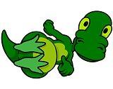 Laying Dino