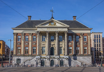 City hall in the center of Groningen