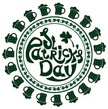 St. Patricks Day lettering