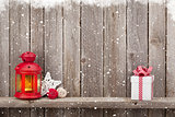 Christmas candle lantern, gift and decor