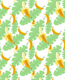 bananas pattern transparent background