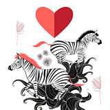 lovers of zebras