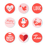 Love is a collection of 9 cards