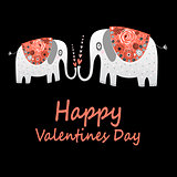 love elephants greeting