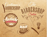 Set Barbershop brown