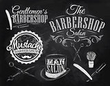 Set Barbershop chalk