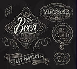 Beer elements chalk