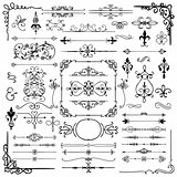 Black Hand Drawn Decorative Doodle Design Elements