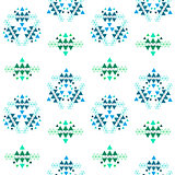 Colorful ethnic seamless pattern design.