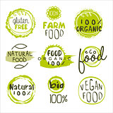 Eco Food Lables Set