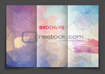 Brochure design template