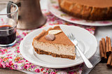 A Slice of Spiced Coffee Cheesecake