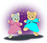 Dancing Teddy Bears