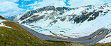 Summer Alps mountain panorama (Austria).
