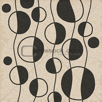 Abstract vector pattern.