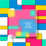 Multicolor Design Templates.