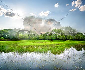 River near Sigiriya