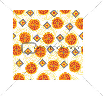 Abstract orange pattern