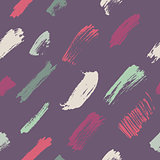Seamless brush strokes pattern