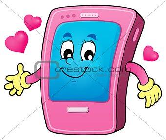 Cartoon smartphone theme 2