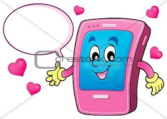 Cartoon smartphone theme 4